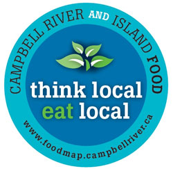 Campbell River and Island Food logo