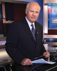 Peter Mansbridge, keynote speaker at 2014 Land Awards Gala