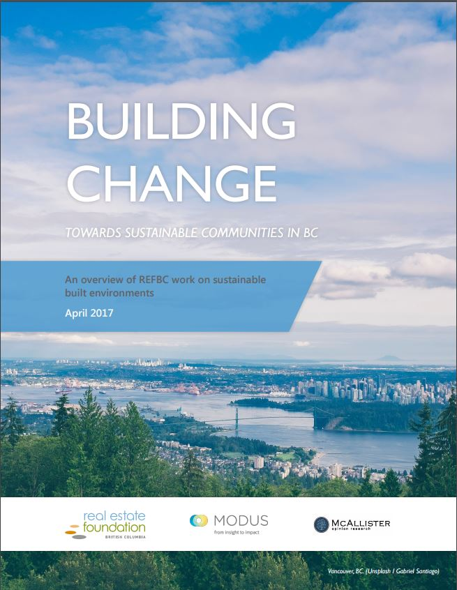 building change report cover