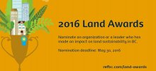 land awards banner