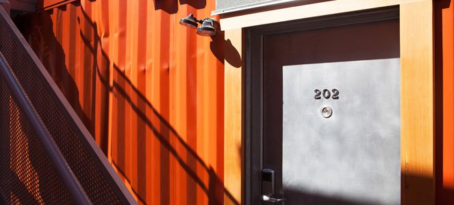 Atira Women's Resource Society's Imouto container housing project, Vancouver BC