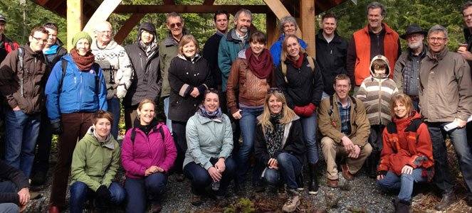Shawnigan watershed group (Photo: Shawnigan Basin Society)