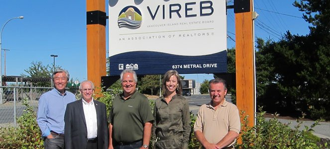 REFBC staff at Vancouver Island Real Estate Board
