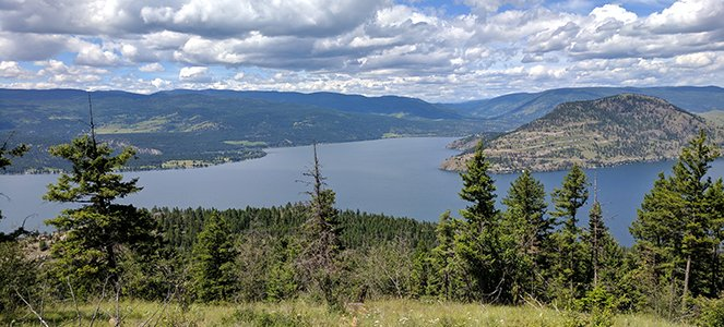 lake okanagan near vernon, bc