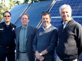 Solar panels on City of Colwood fire station (Photo: City of Colwood)