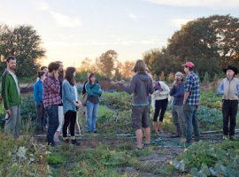 Young Agrarians potluck, Richmond BC