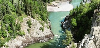 Bulkely River in BC